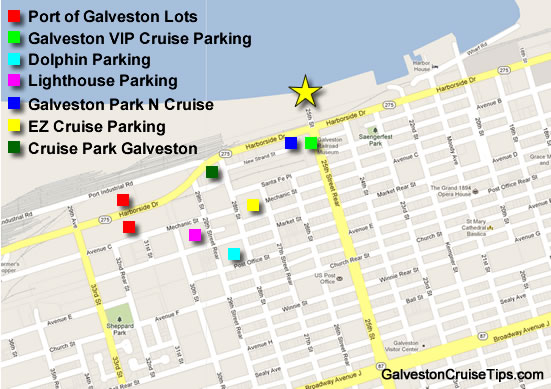 Carnival Cruise Galveston Parking Directions New