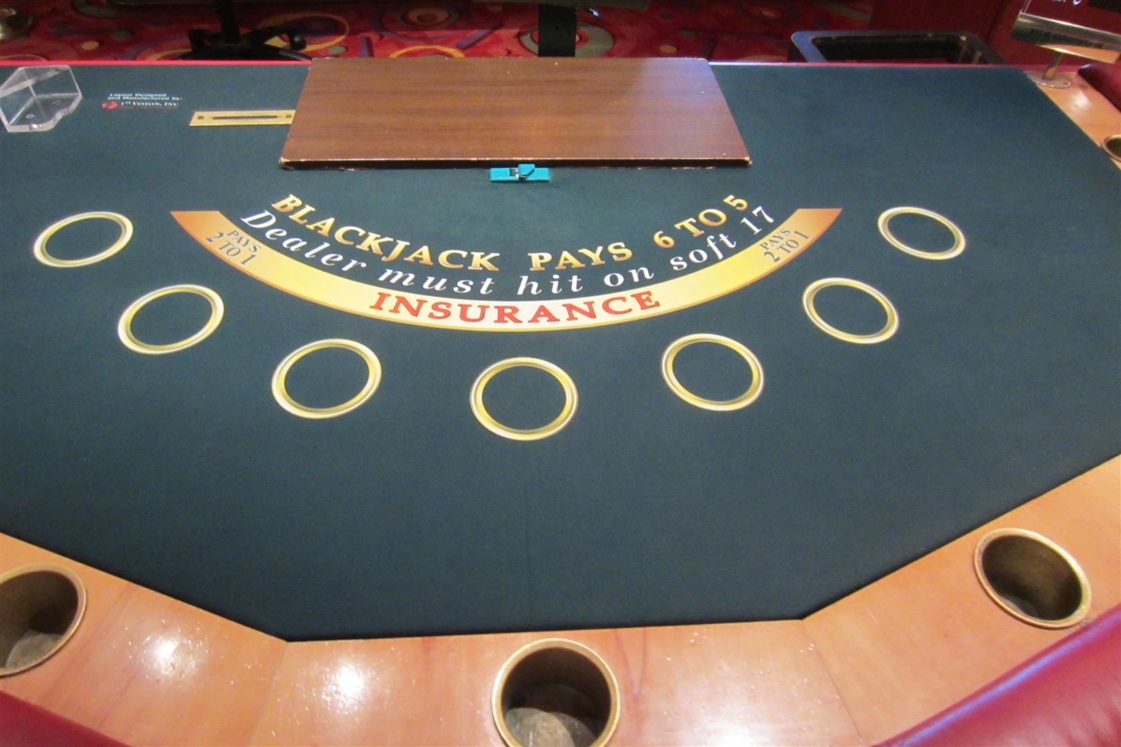 Cruise blackjack